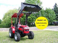 NEUer!! LOVOL TE254 mit Frontlader 25 PS Allrad Traktor Schlepper Bulldog