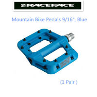 "Race Face Chester Platform Mountain Bike Pedals 9/16"",Blue"
