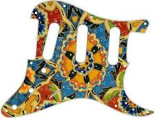 Stratocaster Pickguard Custom Fender SSS 11 Hole Guitar Scratchplate Mosaic 1