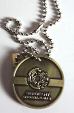 Qmx Serenity/Firefly Malcolm Reynolds Metal Dog Tag- Error Version w Chain