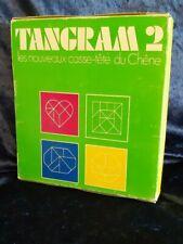 Tangram 2 les nouveaux Casse-Tête du Chêne - Complet livre jeu puzzles Rare