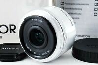 Nikon 1 Nikkor 18.5mm f/1.8 Lens Silver w/ Box Caps Tokyo from Japan EXCELLENT++