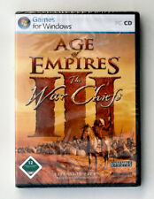 Microsoft Age of Empires III • The War Chiefs • Expansion Pack • PC CD • NEU&OVP