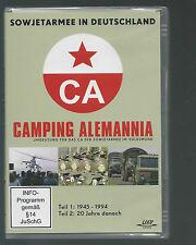 DVD Camping Alemannia, Sowejtarmee in Deutschland