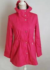 New Womens Hunter Original Cotton Smock Pink Coat /jacket Uk 8-10