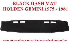 DASH MAT,BLACK DASHMAT FIT HOLDEN GEMINI ,1975-1981 ,BLACK