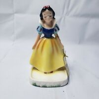 RARE VINTAGE SNOW WHITE WALT DISNEY PRODUCTIONS  ENESCO JAPAN NAPKIN HOLDER TAG