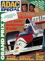ADAC Special Grand Prix 1989 Formel 1 Motorsport Rennsport Alain Prost Senna