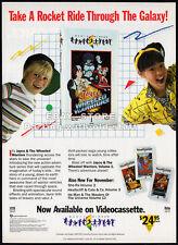 JAYCE and the WHEELED WARRIORS__Original 1986 video Print AD / advert promo __TV