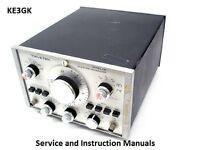 Wavetek Service and Instruction Manuals Library * DVD * Adobe PDF