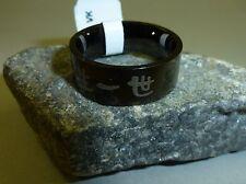Trias Damen oder Herren Edelstahl Ring schwarz whole life Gr.54 NEU - UVP 29,99