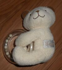 Mothercare - Baby Rattle Bear Toy Snuggie / Snuggle Blanket / Comforter- (15a)