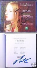 William CHRISTIE & Nathan BERG Signed HANDEL Theodora SOPHIE DANEMAN CROFT 3CD