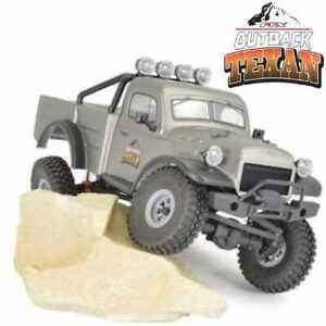 Ftx Outback Mini X Texan 1:18 Trail Ready-To-Run Grey FTX5524GY
