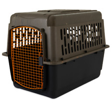 """Dog Crate Large Travel Airline Approved Pet Kennel 36"""" Cage 50-70 lb Camo/Orange"""