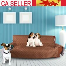 3Seaters Anti-slip Sofa Couch Cover Protector Pet Dog Cat Mat Pad Blanket Coffee