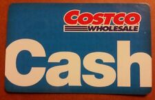 Costco Wholesale Cash Gift Card - Zero Balance - ($0) - No Membership Required