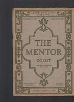 Mentor Magazine October 15 1917 Corot #141