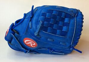 """RAWLINGS 11.5"""" H1150R YOUTH HIGHLIGHT SERIES BLUE GLOVE -LEFT CATCH/RIGHT THROW"""