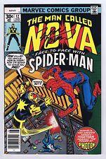 Nova #12 Signed w/COA Marv Wolfman Amazing Spider-Man App 1977 VF Marvel CGC
