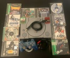 Sony PlayStation 1 , Ps1 Console Bundle , includes ape escape and Ctr !