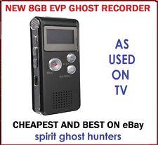 8GB GHOST EVP SPIRIT PARANORMAL HUNTING DIGITAL RECORDER HUNT EQUIPMENT KIT