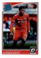 2018-19 Donruss Optic #176 Alphonso Davies FC Bayern Munich