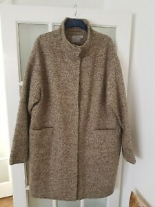 ASOS   Wool  Blend  Oversized Peacoat. Size 16-18  excellent condition