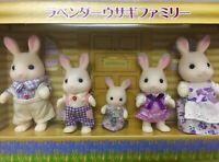 Sylvanian families Lavender Rabbit Family Hokkaido Japan