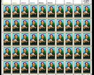 1¢ WONDER'S ~ MNH FULL SHEET (SC #1744) W/ 13¢ HARRIET TUBMAN (50 STAMPS) ~ S634