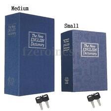 Diccionario Oculto Libro Secreto Diseño Objetos De Valor Caja Seguridad Safe Box