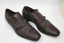 CESARE PACIOTTI men shoes sz 6,5 Europe 40,5 BROWN leather S8171