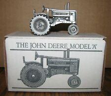 1934-1952 John Deere A  2 Cylinder Pewter Tractor 1/43 Spec Cast Toy JDM-014  jd