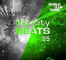 BIG CITY BEATS VOL.25 WORLD CLUB DOME WINTER EDITION 3 CD BOXSET  NEU