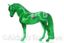 Breyer Emerald Bouncer - Clearware Green Decorator Christmas SR Traditional Pony