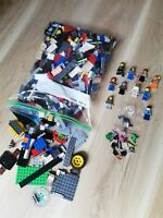 LEGO FIG'S & BRICKS - 1KG X900PC'S BUILDING PACKS +10 FIGURES + X30 ACCESSORIES!