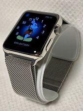 Apple Watch Series 2 - 42mm Stainless Steel Case - Milanese Stainless Steel Loop