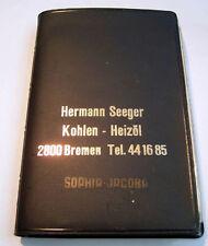 Werbung Skatkarten H. Seeger Kohlen Heizöl - Bremen Sophia Jacoba Edelanthrazit