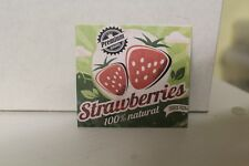 DOLLS HOUSE ( Retro  Metal Sign = Strawberries