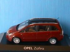 OPEL ZAFIRA 2 2006 DARK RED METAL MINICHAMPS 1/43 ROUGE PHASE II SPECIAL MODEL