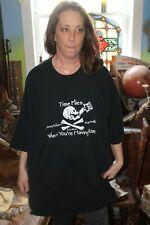 4Xl T-Shirt 100% Cotton Margaritaville Key West Jimmy Buffett Time Flies Rum