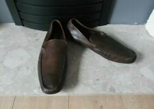 RUSSELL & BROMLEY Men's Brown Slip On Shoes Casual Size EU 46 UK 11