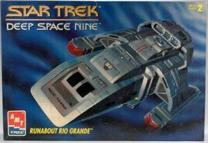 1/72 AMT 8741; STAR TREK DEEP SPACE NINE DS9 RUNABOUT RIO GRANDE (Sealed Box)