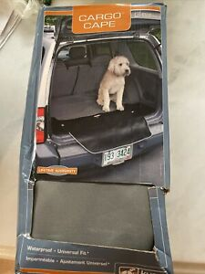 Kurgo Waterproof Universal Fit Car Seat Cargo Cape Liner for Dogs Charcoal Gray
