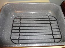 CAMP COOKWARE SPECKLED ENAMEL 2 PIECE BAKING DISH 11 1/2' X 8 1/2""