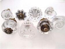 Kitchen Cabinet Knobs, Glass Drawer Pulls or Handles for Dresser  -SET/8