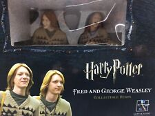 Harry Potter Gentle Giant Bust FRED+GEORGE WEASLEY Convention Exclusive 204/2000
