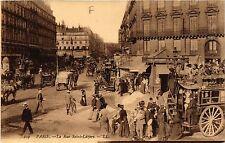CPA Paris 8e, Paris - La Rue Saint-Lazare (362869)