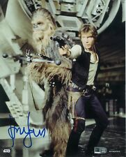 Topps Authenics Star Wars Harrison Ford as Han Solo 8x10 Autograph Photo