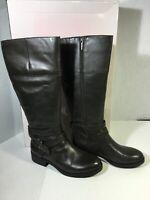 Bandolino BDTESSI 6.5M Women Tall Boot Buckle Mushroom Gray NIB Riding Boot